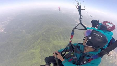 2017-5-13 肖尊褒忠山滑翔伞飞行体验