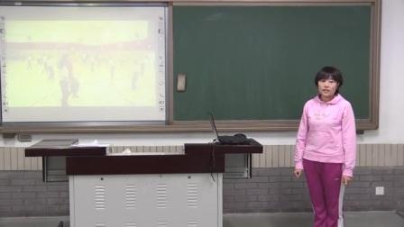 小学体育人教版五年级《排球:正面下手双手垫球》说课 北京王娟(北京市首届中小学青年教师教学说课大赛)