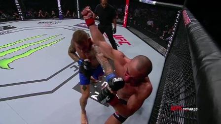 UFC211纯格斗慢镜 双双卫冕奏凯歌