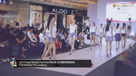 2017 Face of Indonesia Pre-Judging