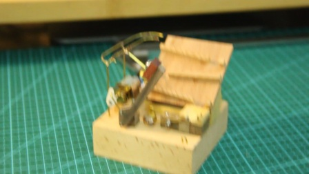 DIY Mini marble machine (Finished)- 自制滚球机【连杆机构通过linkage软件分析】