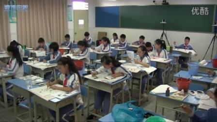 广东版高一美术《写意动物》教学视频,江涛涌