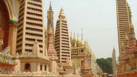 Thanboddhay Pagoda in Monywa (Myanmar)