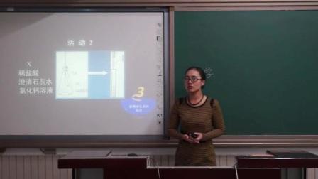 中学化学九年级《二氧化碳与氢氧化钠反应的再探究》说课 北京马一楠(北京市首届中小学青年教师教学说课大赛)
