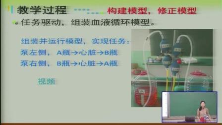 中学生物七下《输送血液的泵-心脏》说课 北京张晓菲(北京市首届中小学青年教师教学说课大赛)