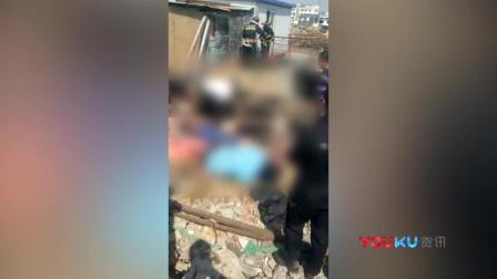 大连村民疏通污水池晕倒 多人陆续救援造成8死2伤