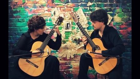 萨蒂悬秘曲二号 Erik Satie (1866-1925) - Gnossienne N°2 [ Duo Kitharsis ]