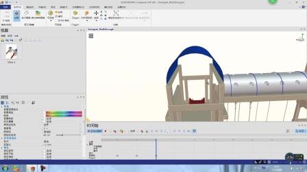SOLIDWORKS Composer利用相机关键帧实现漫游视角