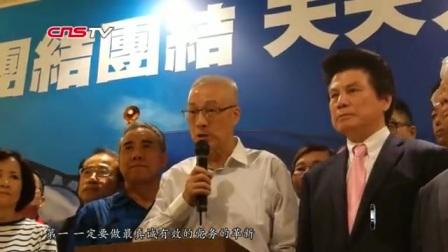 吴敦义当选中国国民党主席