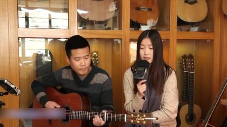 月月郭咚咚《最爱你的 人是我》朱丽叶指弹吉他弹唱