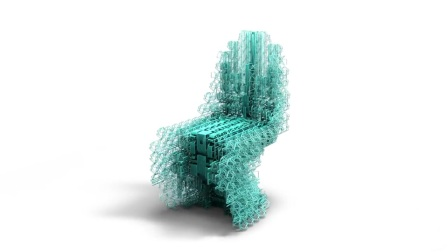 Voxel chair v1.0 by Design Computation Lab