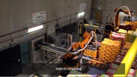 KUKA 机器人帮助法国传统家庭面粉厂