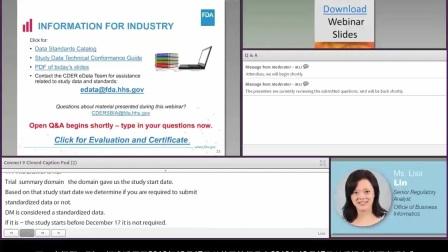 网络系列讲座: eCTD研究数据标准:你应该了解的关于新技术拒绝标准的内容
