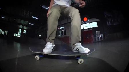 Daniel Espinoza- Trickipedia - Nollie Frontside 3