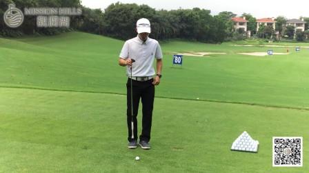 一分钟学会高尔夫提高身体稳定性