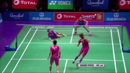 2017苏迪曼杯8强赛韩国VS中国台北最佳球