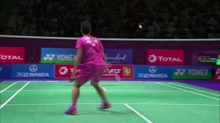 2017苏迪曼杯8强赛韩国VS中国台北集锦