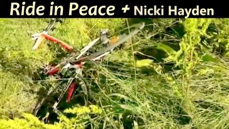 RIP + Nicki Hayden Cycling video