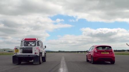 Bowler Defender V6 vs Ford Fiesta ST
