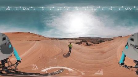 Garmin VIRB 360- Mountain Biking Bartlett Wash, Moab, UT