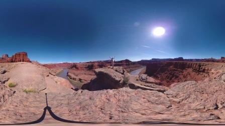 Garmin VIRB 360- Reveling in Nature Outside Moab, UT