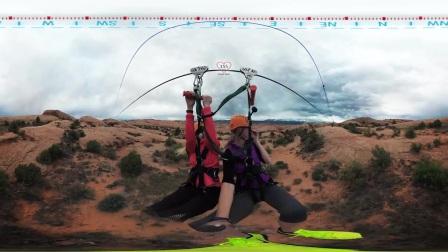 Garmin VIRB 360- Zip-Lining near Moab, UT