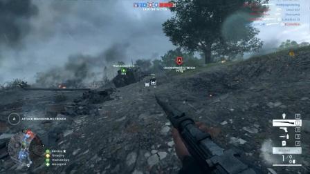 M1 Garand American WW2 Loadout  Battlefield 1 Frontline Survival Gameplay