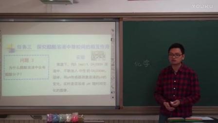 """高二化学《弱电解质的电离》说课视频,北京市中小学第一届""""京教杯""""青年教师教学基本功展示活动"""