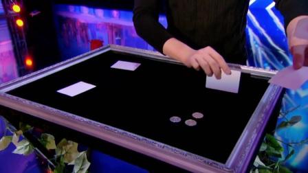 【怪咖搞笑】目瞪口呆!台湾魔术师超快手法硬币魔术