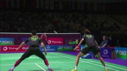 2017苏迪曼杯半决赛中国队VS日本队集锦