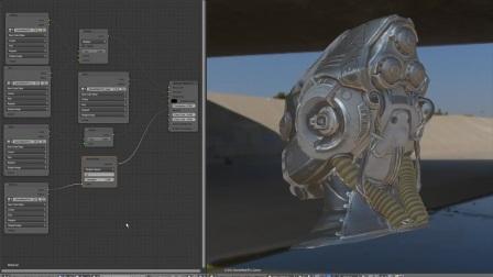 Eevee Engine in Blender 2.8 Test