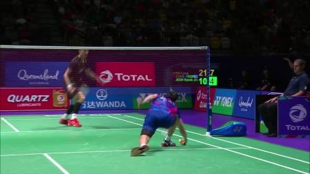 2017苏迪曼杯决赛中国队VS韩国队集锦