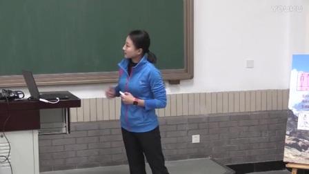 高三体育《技巧―侧手翻》说课视频,北京市首届中小学青年教师教学说课大赛