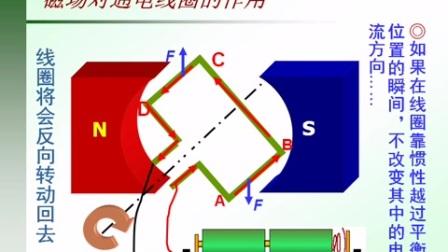 初中物理《直流电机工作原理》微课视频,2016年微课评比活动一等奖