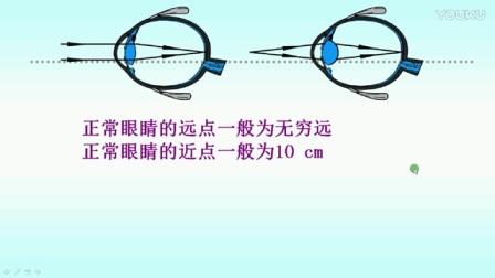 北师大版物理八年级《眼睛和眼镜》微课视频,吴宁,2016年微课评比活动一等奖
