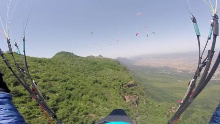2017-5-26 林州滑翔伞飞行