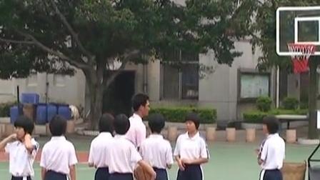 八年级体育《篮球传切配合及体能练习》教学视频,广东佛山