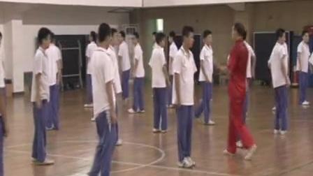 初二体育《少年拳》教学视频,北京