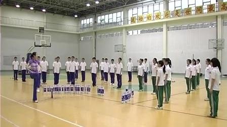 初二体育《自编健身操》教学视频,江西