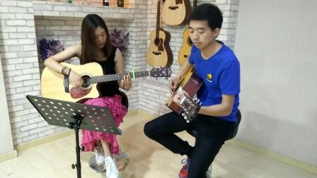 双吉他弹唱《一瞬间》