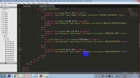 HTML零基础入门第十一讲day11_04_京东注册【育知同创】