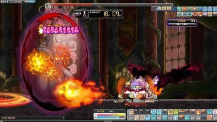 [T126]冒险岛炎术士五转第二技能VS进阶世界树-血腥女王