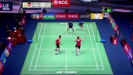 2017年泰国羽毛球黄金赛决赛日集锦