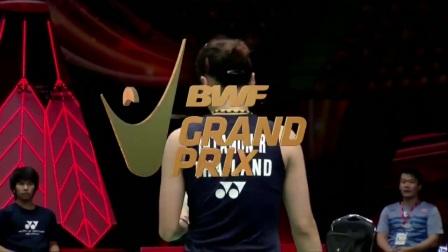 2017年泰国羽毛球黄金赛半决赛最佳球