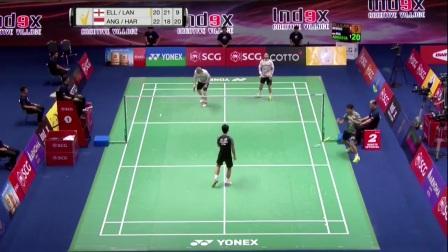2017年泰国羽毛球黄金赛半决赛集锦