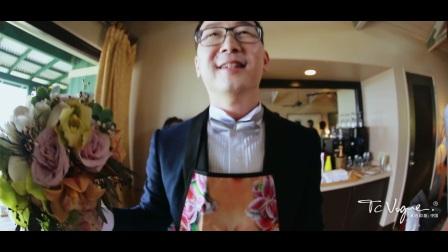 汤池印象:陆川 & 胡蝶  夏威夷婚礼