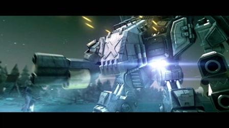 宙斯机甲大战远古巨龙, 被驾驶巨龙的小兵一巴掌打歪嘴。