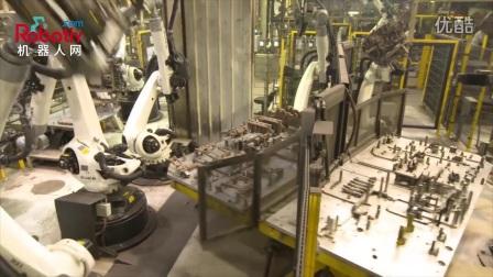 25个KUKA机器人 全自动组装曲轴箱核心包_机器人网