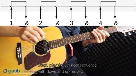 Cherub小天使免费吉他课五《流行摇滚吉他扫弦》