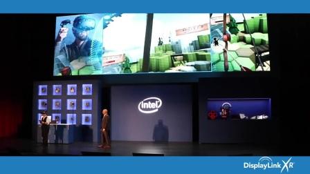 Intel Keynote at Computex 2017 Showing DisplayLink XR